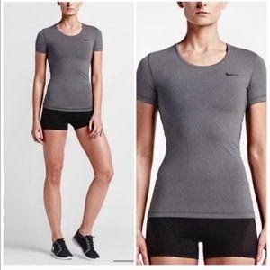 Nike Dri Fit Gray Short Sleeve Tee Size XL NWT